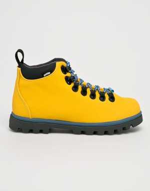 Native Női Magasszárú cipő sárga
