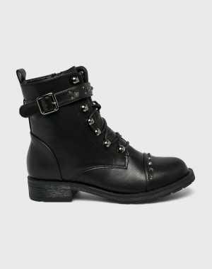 Medicine Női Magasszárú cipő Basic fekete