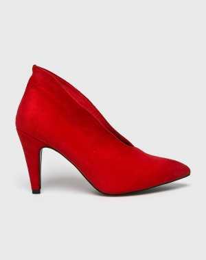 Answear Női Magasszárú cipő Malien piros