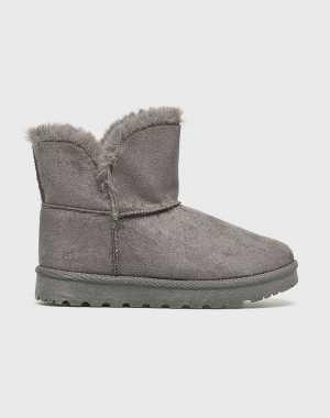 Answear Női Magasszárú cipő Stephan szürke