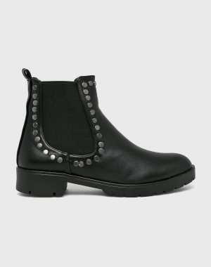 Trendyol Női Magasszárú cipő fekete