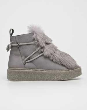 Gino Rossi Női Magasszárú cipő Oda szürke