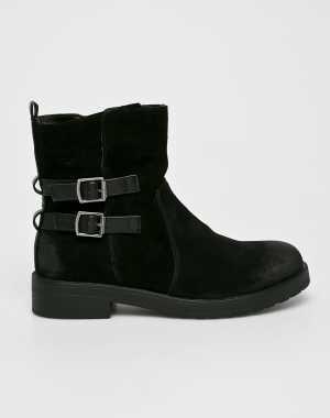 American Club Női Magasszárú cipő fekete