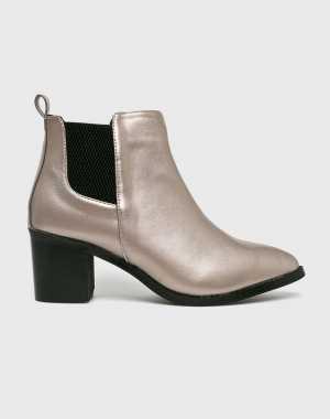 Answear Női Magasszárú cipő ezüst