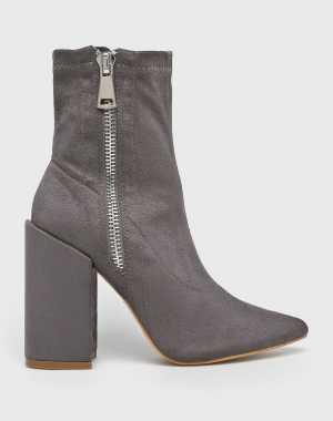 Answear Női Magasszárú cipő szürke