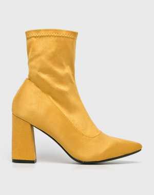 Answear Női Magasszárú cipő sárga