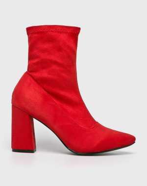 Answear Női Magasszárú cipő piros