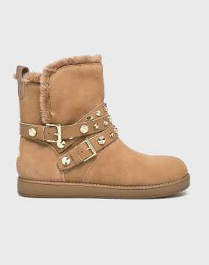 Guess Jeans Női Magasszárú cipő bézs