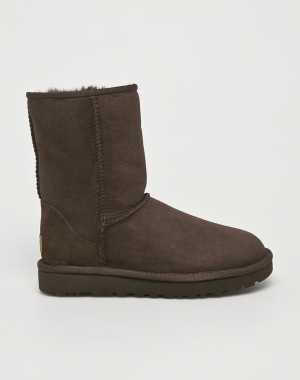 UGG Női Cipő Classic Short II sötét barna