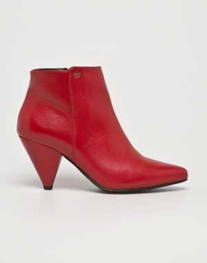 Wojas Női Magasszárú cipő piros