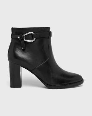 Lauren Ralph Lauren Női Magasszárú cipő fekete