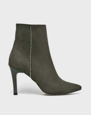 Trendyol Női Magasszárú cipő barnás- zöld