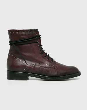 Tamaris Női Magasszárú cipő gesztenyebarna