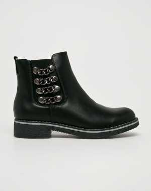 Answear Női Magasszárú cipő Super woman fekete