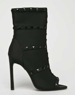 Public Desire Női Magasszárú cipő ATTITUDE fekete