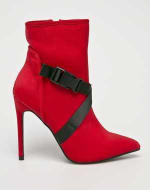 Public Desire Női Magasszárú cipő piros