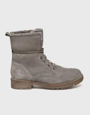 s. Oliver Női Magasszárú cipő halványszürke