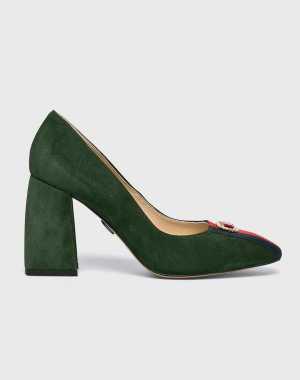 Baldowski Női Sarkas cipő zöld