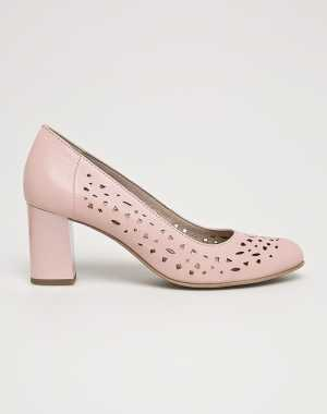 Jana Női Sarkas cipő piszkos rózsaszín