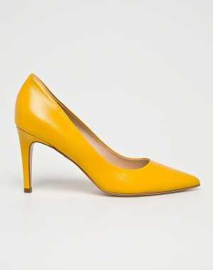 Solo Femme Női Tűsarkú cipő sárga