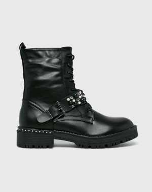 Answear Női Magasszárú cipő Findlay fekete