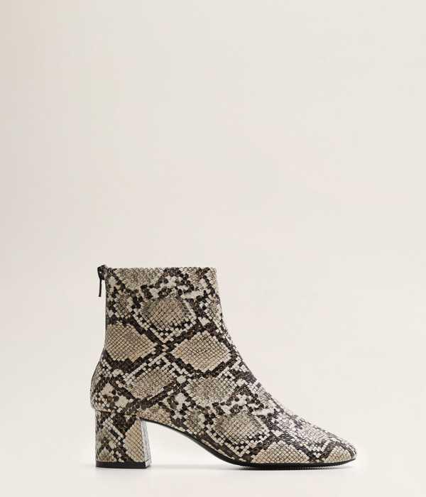 Mango Női Magasszárú cipő Carlo testszínű