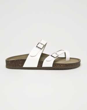 Steve Madden Női Papucs cipő Bryceee fehér