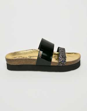 Pepe Jeans Női Papucs cipő fekete